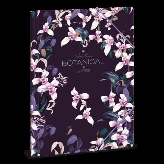 Папка с ластик Ars Una Botanic Orchid А4