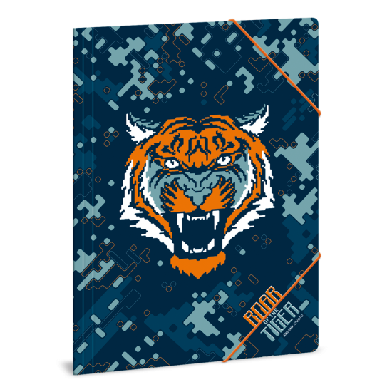 Папка с ластик Ars Una Roar of the Tiger А4