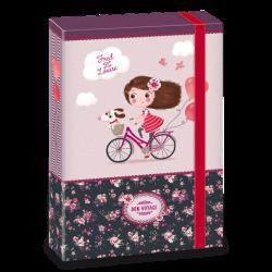 Ars Una кутия с ластик A4 Bon Voyage