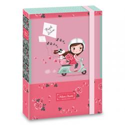Ars Una кутия с ластик A4 Mon Amie