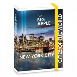 Ars Una кутия с ластик A4 New York