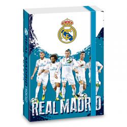 Ars Una кутия с ластик A4 Real Madrid