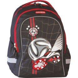 Cool Pack Ученическа раница с две отделения Football Black