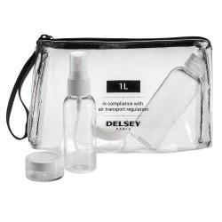 Delsey прозрачна чантичка за аксесоари