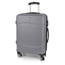 ABS куфар 77 см. сребрист – Orleans