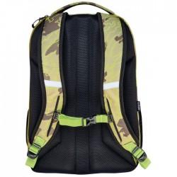 Ученическа ергономична раница Be.Bag Be. - Ready Abstract Camouflage