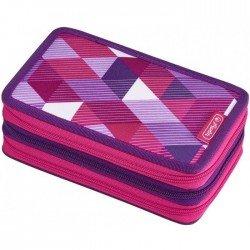 Несесер pink cubes 31части с 3 ципа пълен