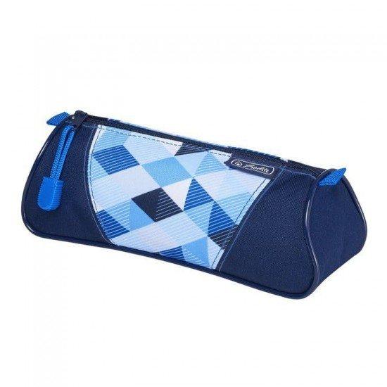 Триъгълен несесер blue cubes