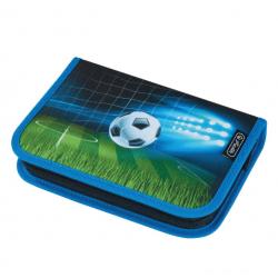 Празен несесер soccer с един цип и едно крило