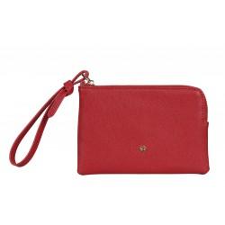 MY SAMSONITE SLG flat pouch 100% PU червен