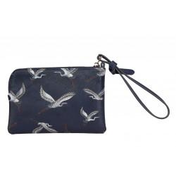 MY SAMSONITE SLG flat pouch 100% PU Heron Print