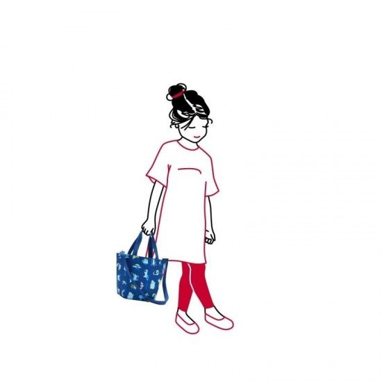 Чанта за пазаруване Reisenthel XS - Синя