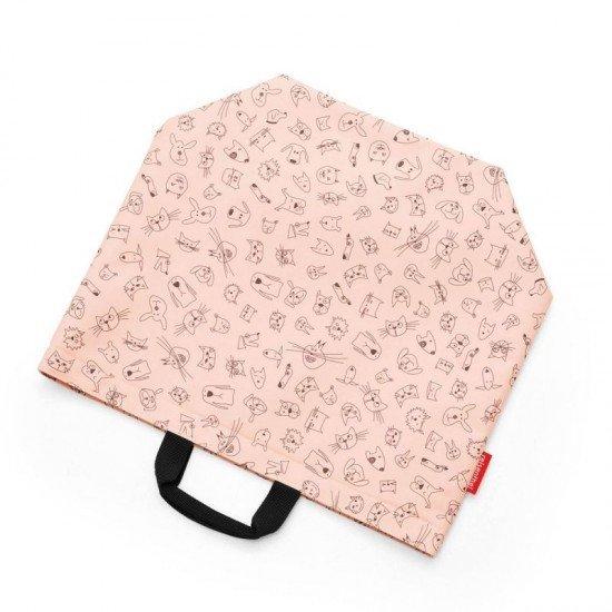 Чанта за съхранение Reisenthel Cats and Dogs - Роза
