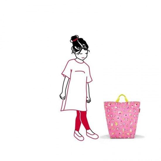 Чанта за съхранение Reisenthel ABC Friends - розова