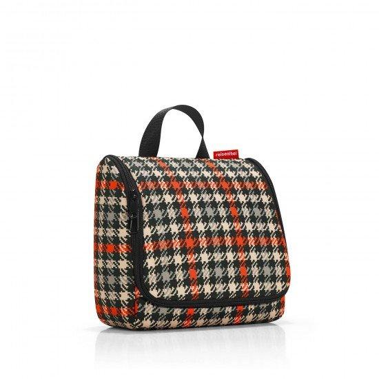 Козметична чанта Reisenthel - Glencheck red