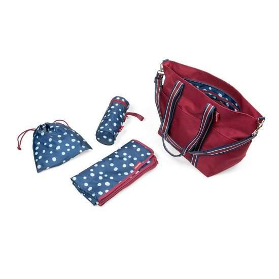 Чанта за бебешки принадлежности Reisenthel Baby Organizer - Dark Ruby