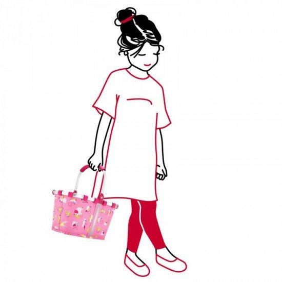 Детска кошница Reisenthel Carrybag XS Kids - Аbc Friends Pink