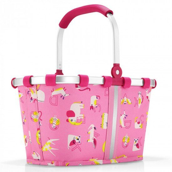 Детска кошница Reisenthel Carrybag XS Kids - Аbc Friends Pink