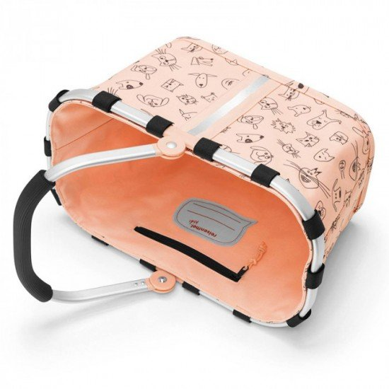 Детска кошница Reisenthel Carrybag XS Kids - Cats and Dogs Rose