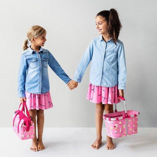 Пътна чанта Reisenthel Allrounder XS Kids - Аbc Friends Pink