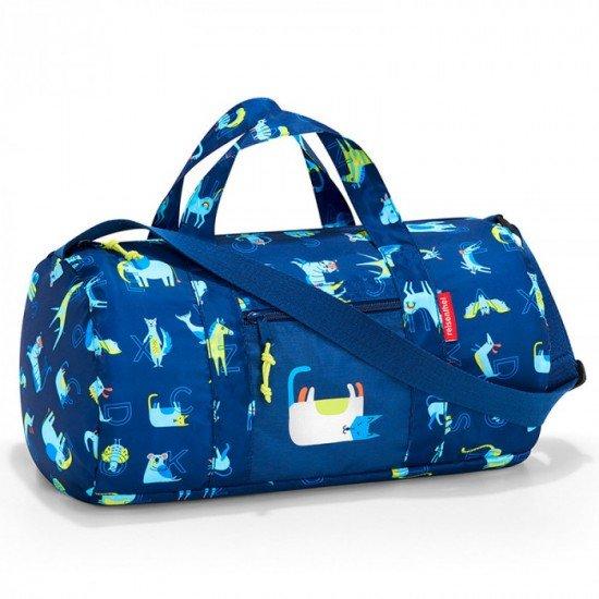 Пътна чанта Reisenthel Mini maxi Dufflebag S Kids - Abc Friends Blue