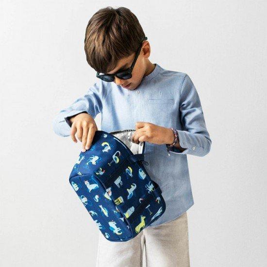 Термо чанта Reisenthel Coolerbag XS Kids - Аbc Friends Blue