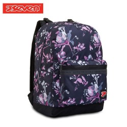 Seven® Ученическа раница Reverse Flowers