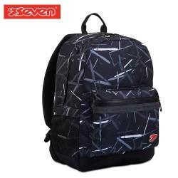 Seven® Ученическа раница Pro Black