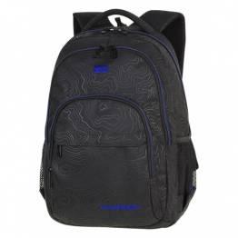 Cool Pack Ученическа раница с две отделения BASIC PLUS Topography Blue