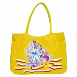 Time For Плажна чанта - Жълта 100121