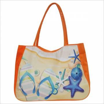 Time For Плажна чанта - Оранж 100122