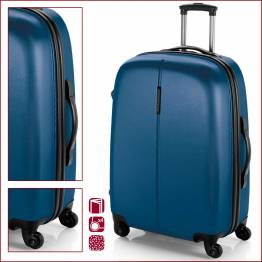 ABS куфар 77 см син - Paradise Куфари и чанти