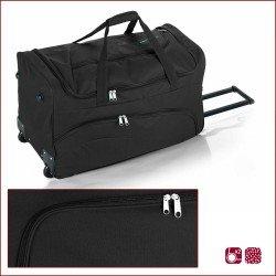 Пътна чанта на колела 66 см. черна – Week
