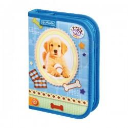 Пълен ученически несесер 19 части Pretty Pets Dog Herlitz 08229270