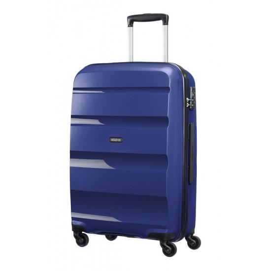 American Tourister куфар Bon Air 66 см - тъмно син