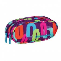 Cool Pack несесер с два ципа Multicolor