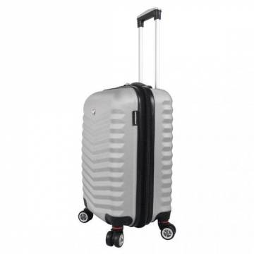 Куфар с 4 колела Wenger 47 см - Hardside basic, сив Куфари и чанти