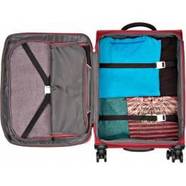 Куфар KendoLITE 4W 56 см - червен