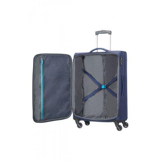 American Tourister куфар Funshine 66 см -тъмно син