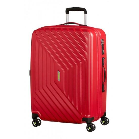 American Tourister куфар Air Force 1 66 см - червен