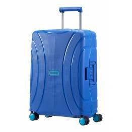 American Tourister куфар Lock'N'Roll 55 см - син