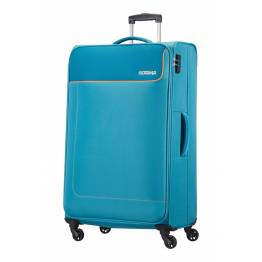 American Tourister куфар Funshine 79 см - син