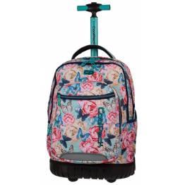 Cool Pack Ученическа раница с две отделния и колела SWIFT Butterflies 80156