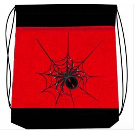 Belmil Спортна торба Spider red and black