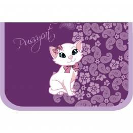 Belmil Празен ученически несесер Pussycat Purple