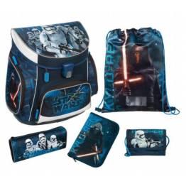 Undercover Ергономична ученическа раница с едно отделение и аксесоари Star Wars 26252