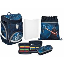 Undercover Ергономична ученическа раница с едно отделение и аксесоари Star Wars 26590