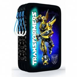 KARTON P+P Празен несесер с три ципа Transformers 3-14517