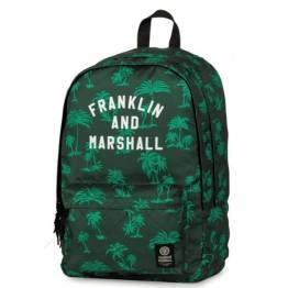 Stationery Team Ученическа раница с две отделния Franklin and Marshall Green 10930