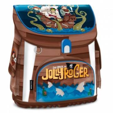 ARS UNA Ученическа ергономична раница Jolly Roger 94498066